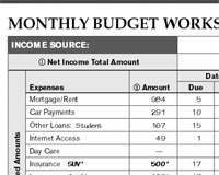 Free Download - The Budget Kit Printable PDF Forms