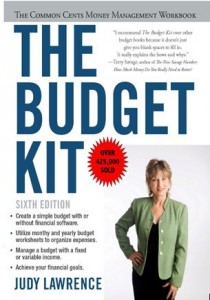 the budget kit table of contents money tracker