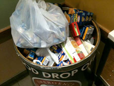 Your local food drop-off