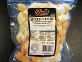 Yummy mixed cheese curds