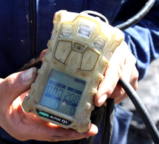 Methane Detection Device