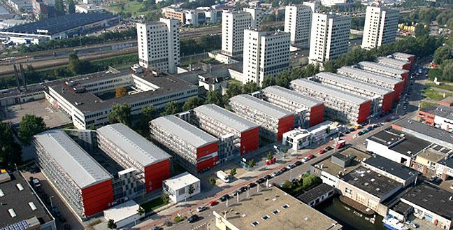 Keetwonen... Amsterdam University student housing