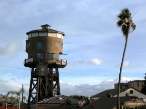Huntington Beach Repurposed Water Tower