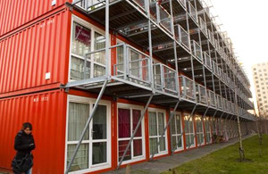 Repurposed Buildings with Shipping Containers