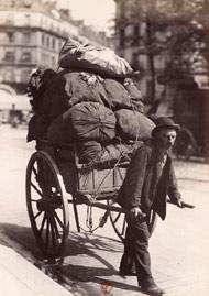 Ragpicker in Paris, c. 1900