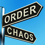 At the corner of Chaos and Order