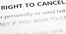 You have a right to cancel your policy...
