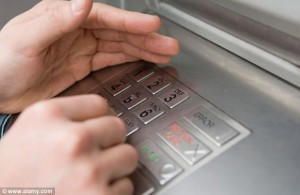 Using your credit card at the ATM?
