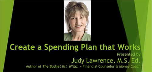 Start Your Personal Budgeting Webinar