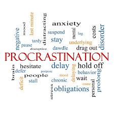 Let's See . . . Procrastinate or Create a Personal Spending Plan?